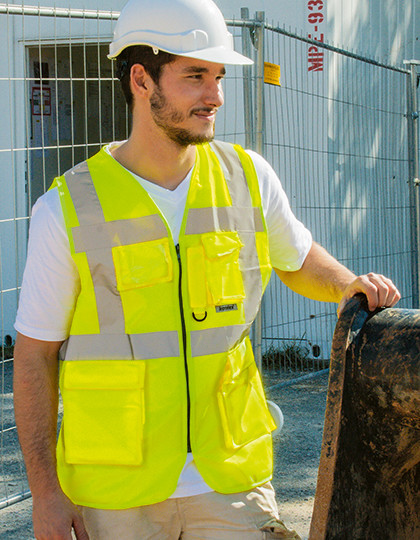 Executive Hi-Viz Safety Vest Korntex KXMF - Robocza