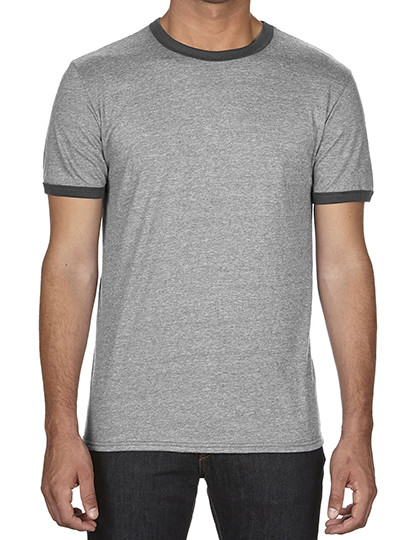 Fashion Basic Ringer Tee Anvil 988