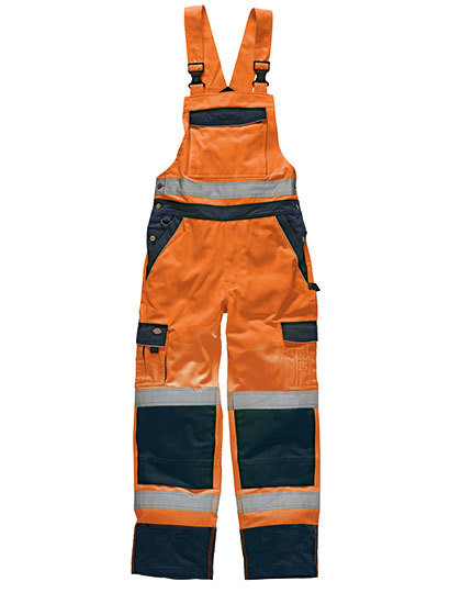 Industry Hi-Vis Bib and Brace EN20471 Dickies SA30045