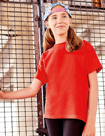 Kids Silver Label T-Shirt Russell R-180B-0