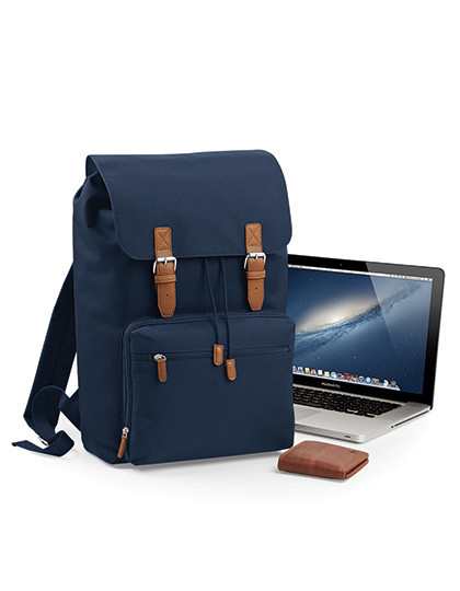 Vintage Laptop Backpack BagBase BG613 - Plecaki