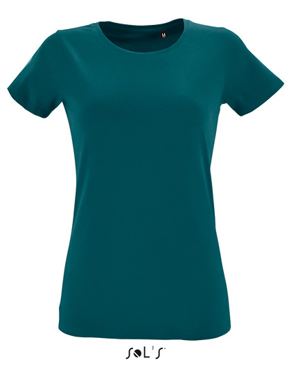 Womens Round Neck Fitted T-Shirt Regent SOL´S 02758