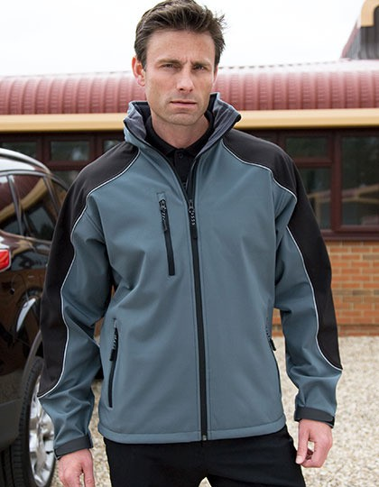 Kurtka Ice Fell Hooded Soft Shell Result WORK-GUARD R118X