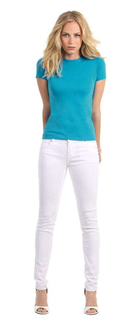 Koszulka - T-Shirt Women-Only B C TW012 - Okrągły dekolt 5631f50aba