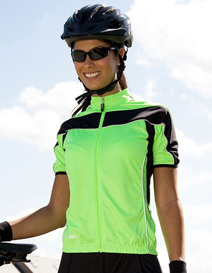 Ladies Bikewear Full Zip Performance Top SPIRO S188F - Odzież rowerowa