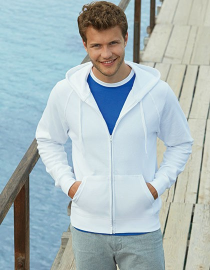 Kurtka Lightweight Hooded Fruit of the Loom 62-144-0