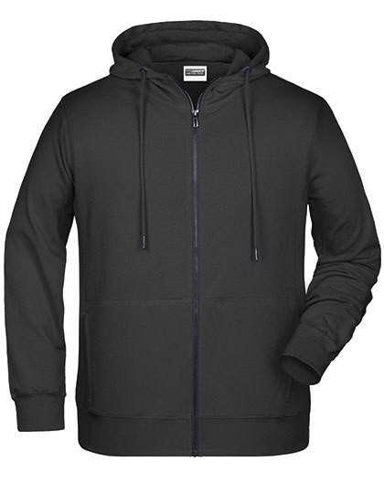 Men`s Zip-Hoody James&Nicholson 8026