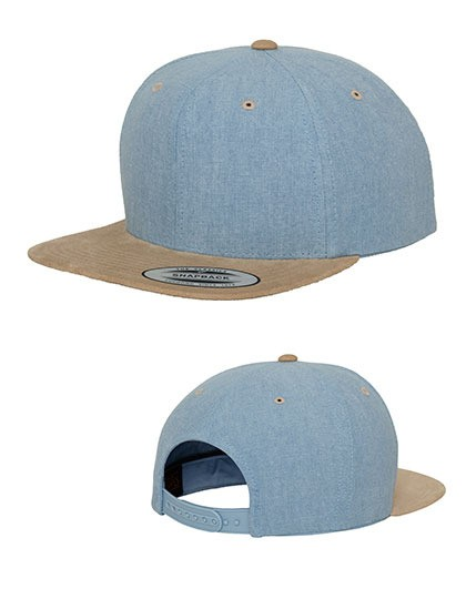 Chambray-Suede Snapback FLEXFIT 6089CH