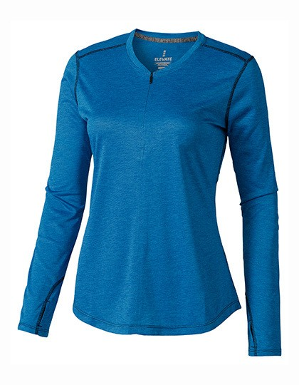 Quadra Long Sleeve Ladies Top Elevate 39024 - Damskie koszulki sportowe