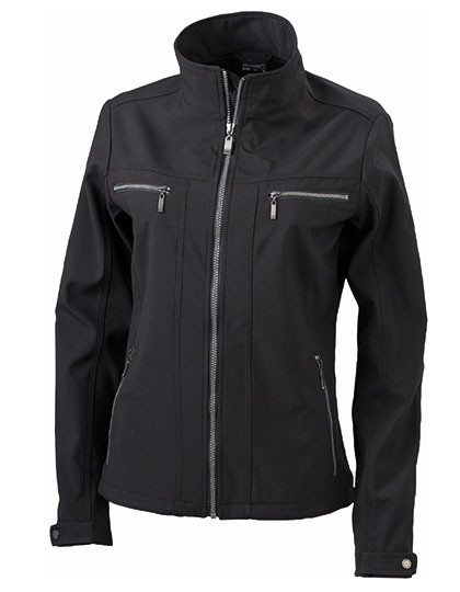 Damska kurtka Tailored Softshell James&Nicholson JN 1057 - Soft-Shell