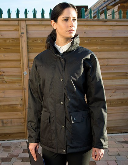 Ladies Platinum Managers Jacket Result WORK-GUARD R307F