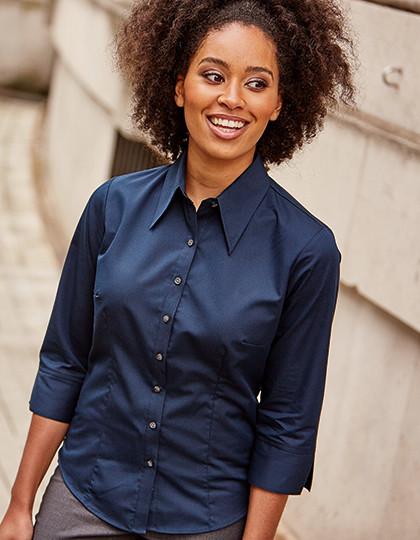 6adfa403e2 Damska koszula z 3 4 rękawem Tencel ® Russell Collection R-954F-0