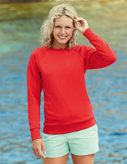 Bluza damska Fit Lightweight Raglan Fruit of the Loom 62-146-0