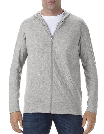 Tri-Blend Full-Zip Hooded Jacket