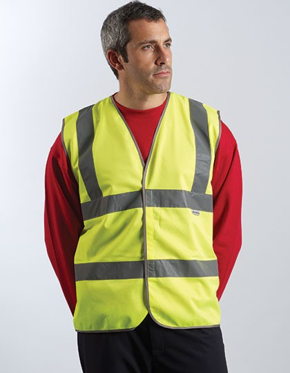 Professional Safety Vest Yellow Dickies SA22010 - Kamizelki