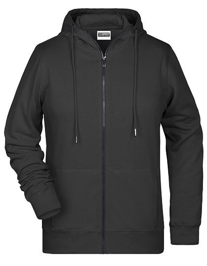 Ladies` Zip-Hoody James&Nicholson 8025