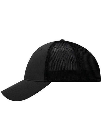6 Panel Elastic Fit Mesh Cap Myrtle Beach MB6215
