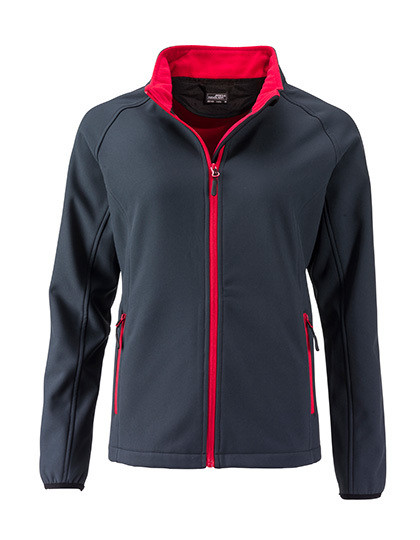 Ladies` Promo Softshell Jacket James&Nicholson JN1129 - Kurtki