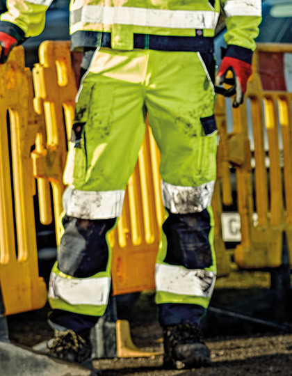 High Visibility Industry 300 Trousers EN20471 Dickies SA30035