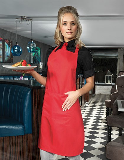 ´Colours´ Bib Apron With Pocket Premier Workwear PR154