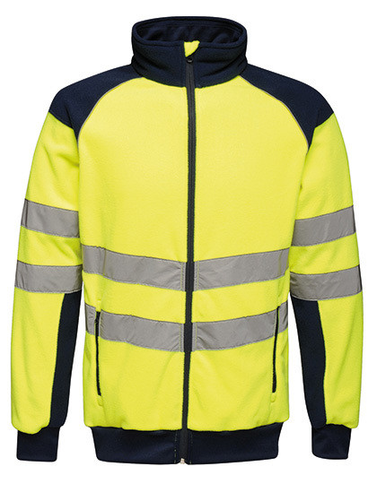 Hi-Vis Pro Fleece Jacket Regatta TRF525 - Kurtki