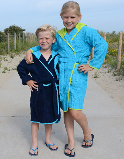Boyzz&Girlzz Hooded Bathrobe A&R 021.50 - Szlafroki