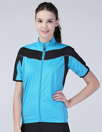 Ladies Bikewear Full Zip Performance Top SPIRO S188F - Sportowa