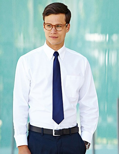 Męski  Long Sleeve Oxford Shirt