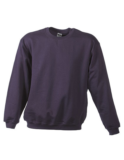 Bluza Round Sweat Heavy James&Nicholson JN 040
