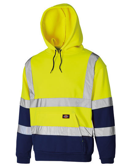 Two Tone High Visible Hoody Dickies SA22095