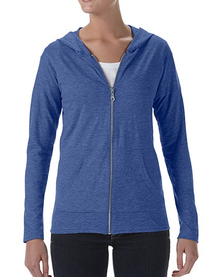Women´s Tri-Blend Full-Zip Hooded Jacket