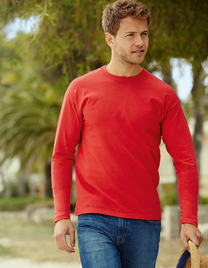 Koszulka Valueweight Long Sleeve T Fruit of the Loom 61-038-0