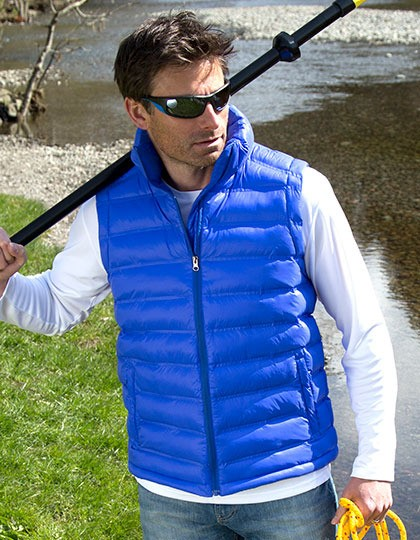 Mens Ice Bird Padded Gilet Result R193M