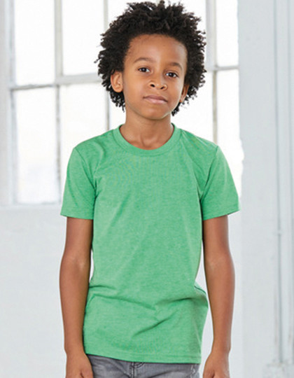 Youth Triblend Jersey Short Sleeve Tee Canvas 3413Y