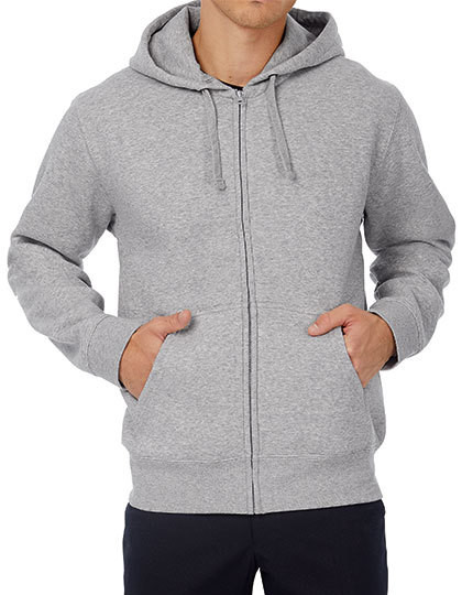 Hooded Full Zip Sweat / Men B&C WM647