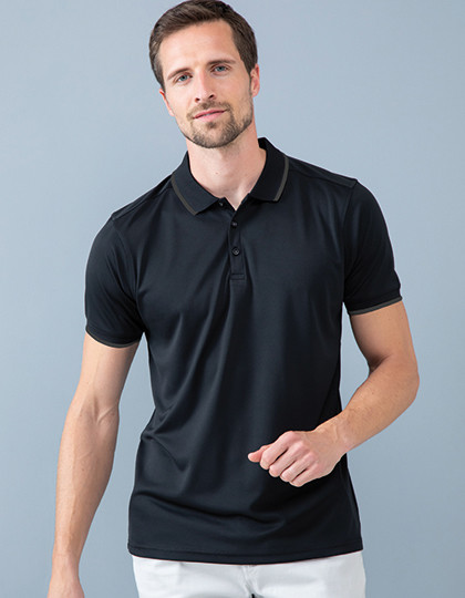 Men´s HiCool Tipped Polo Shirt Henbury H485