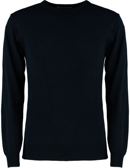 Regular Fit Arundel Crew Neck Sweater Kustom Kit KK253 - Swetry męskie