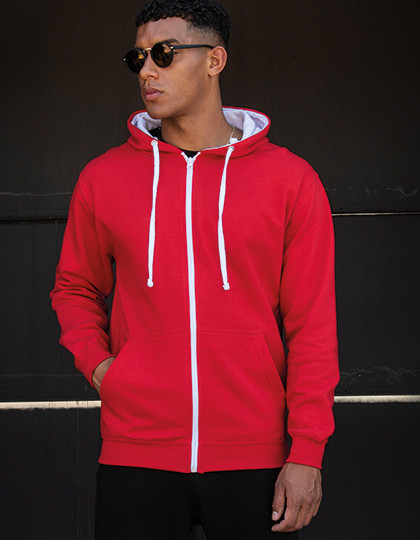 Varsity Zoodie Just Hoods JH053 - Bluzy