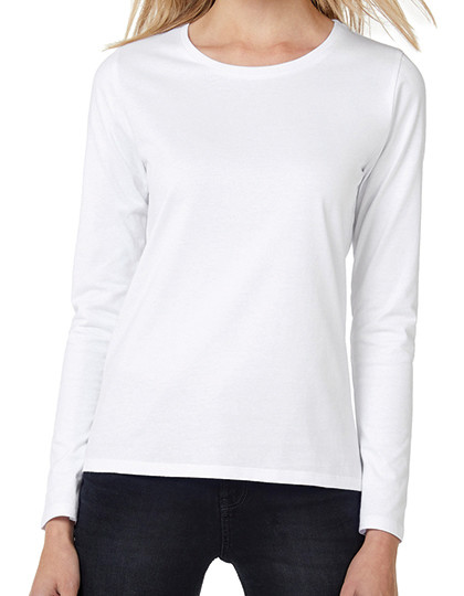 T-Shirt #E190 Long Sleeve / Women B&C TW 08T