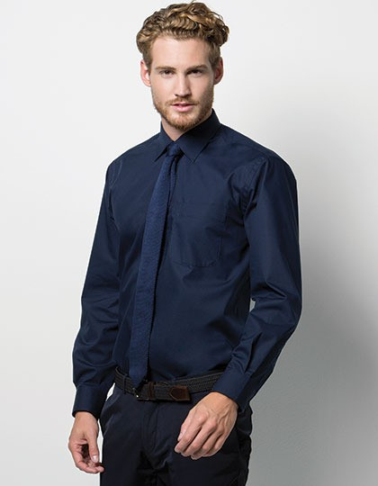 Business Poplin Shirt Long Sleeve