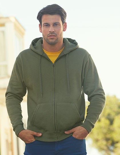 Bluza - Premium Hooded Sweat Jacket Fruit of the Loom 62-034-0