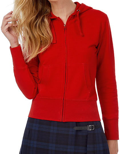 Hooded Full Zip Sweat / Women B&C WW642