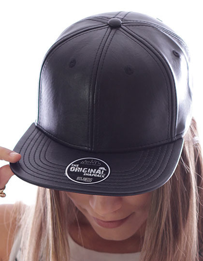 Snap Ecoleather - Snap Back Atlantis Snap Ecoleather - Snapbacki