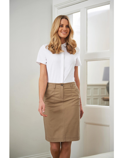 Business Casual Collection Austin Chino Skirt Brook Taverner 2302