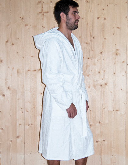 Quick-Dry Bathrobe Hooded / Men Bear Dream BR6004 - Szlafroki
