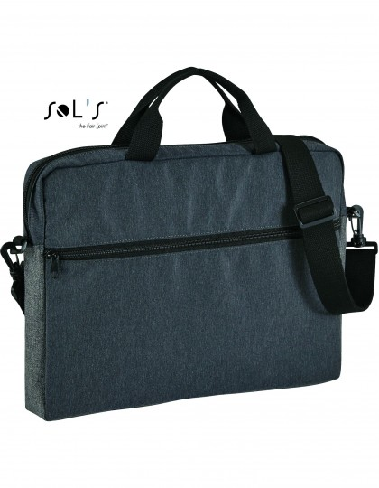 Dual Material Briefcase Porter SOL´S Bags 02114 - Torby biznesowe