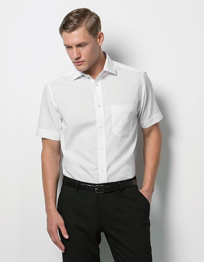 Premium Non Iron Corporate Poplin Shirt Short Sleeve