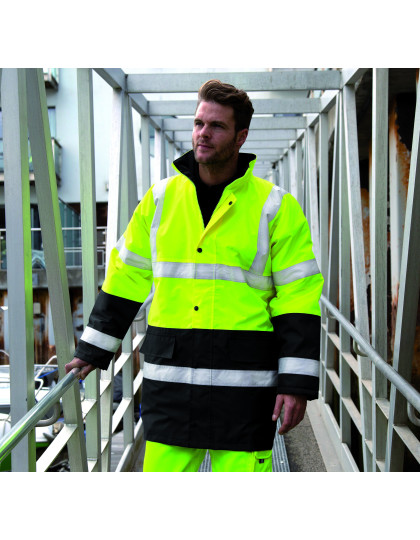 Motorway 2-Tone Safety Coat Safe-Guard R452X - Kurtki
