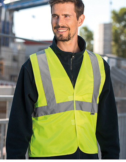 Warning Vest - 3 Reflective Stripes Korntex KXDR
