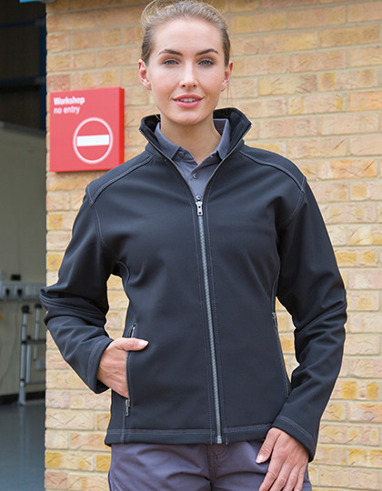 Women´s Treble Stitch Softshell Jacket Result WORK-GUARD R455F